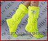 Комнатные сапожки (цвет лимон) р.38-39