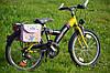 Дитяча подвійна велосумка на багажник Baby Born з Німеччини