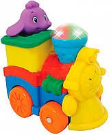 Развивающая игрушка Kiddieland Паровозик слоника (053462)