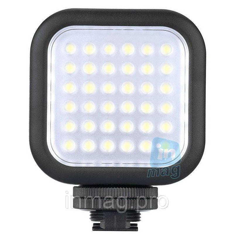 Накамерный компактный светодиодный свет LED-5006 + АБ + З/У.