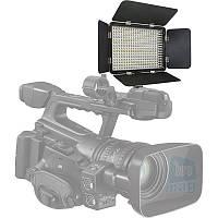 Светодиодный биколорный свет со шторками LED-330C / LED-3300A, 3200K-5500K.