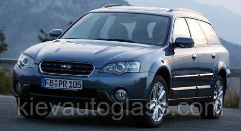 Лобовое стекло на Subaru Outback 2003-09 г.в.