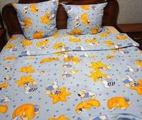 Сменный комплект в кроватку Мишки на звездах