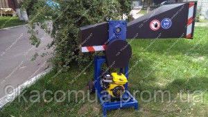 Веткоруб ВТР — 70 без двигателя с шкивами
