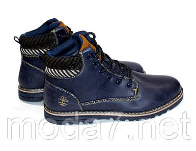Мужские зимние ботинки под Timberland