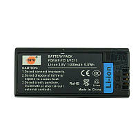 Аккумулятор для фотоаппарата Sony NP-FC11, 1400 mAh.