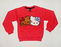 Джемпер для Девочки Начес Hello Kitty Розовый Рост 122-128 см