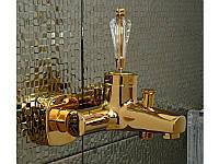 Смеситель для ванны Venezia-Diamonod Gold