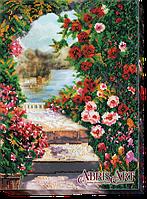 Набор для вышивания бисером Летний сад АВ-482