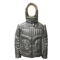 Пуховик мужской Snowimage средней длины темно-серый