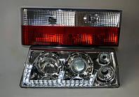 Передние фары+задние фонари на ВАЗ 2109 №13