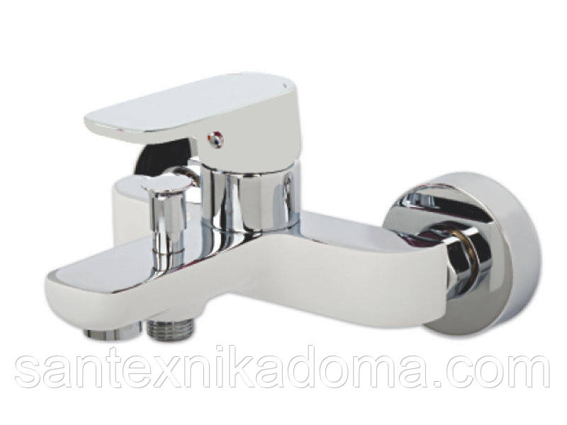 Смеситель для ванны Venezia-Kapadokya, белый
