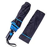 Складана напівавтоматична парасолька 96 см, фото 6