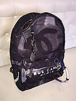Крутой женский рюкзак CHANEL GRAFFITI