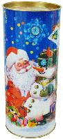 Детская новогодняя упаковка  - тубус на 550 грамм