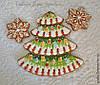 Пряничная сказка:выкройки и примеры декора пряничных домиков,печенья