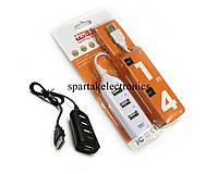 Разветвитель 4 порта USB HUB P, usb хаб, переходник разветвитель