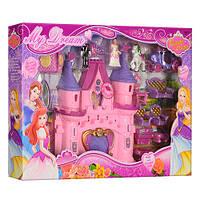 Замок SG-2971 принцеси, мебель, карета, фігурки, муз., світло, бат., кор,53-35,5-7 см. Артикул: SG-2971