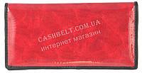Недорогой женский кошелек с качественной мягкой кожи SWAN art. B205.1 RED P красный лак, фото 1