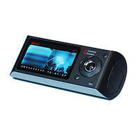 Видеорегистратор автомобильный R300 2 камеры+ GPS