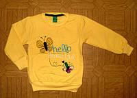 Джемпер для Девочки Начес Beautrful Желтый Рост 110-116 см