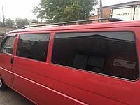 Volkswagen T4 Caravelle/Multivan Рейлинги Черные Длинная база, Пластиковые ножки