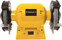 Точило STANLEY STGB3715, 370 Вт, абразивний диск 150 мм,  2950 об/хвил., захист.