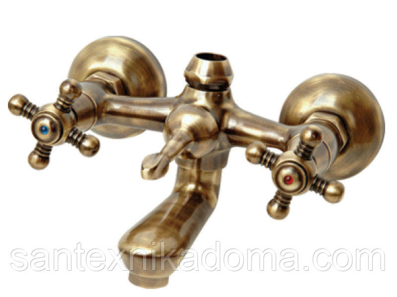 Смеситель для ванны Venezia-Nostalji, бронза