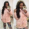 Куртка женская зима  с капюшоном,модель 1020