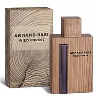 Мужская туалетная вода Armand Basi Wild Forest (Арманд Баси Ваилд Форест) древесный аромат  AAT