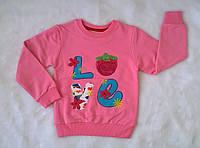 Джемпер для Девочки Начес Love 2 Розовый Рост 110-116 см