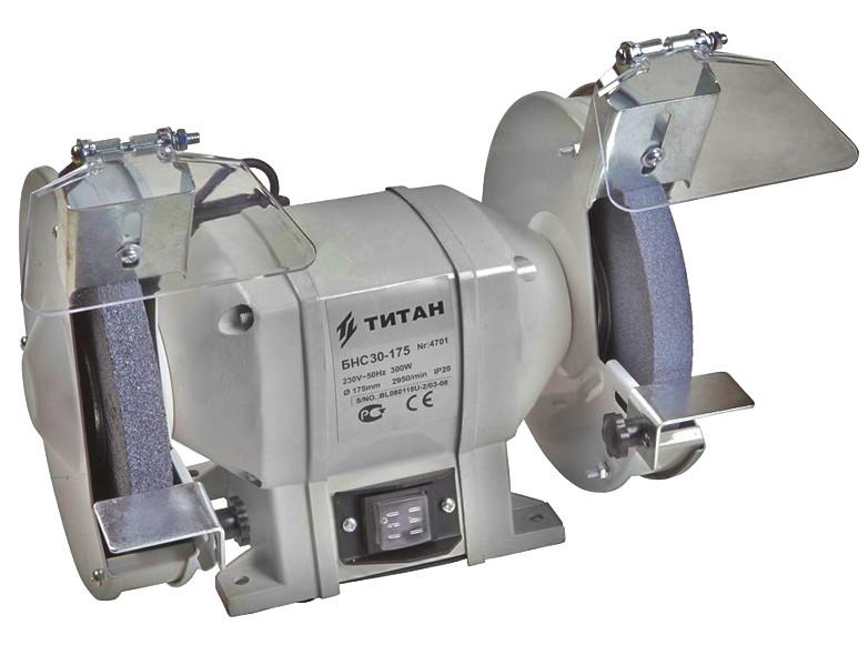 Точило TITAN БНС30-175 (300Вт)