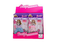 """Набор платьев для кукол """"Barbie"""" (коробка 12 шт.) р.25*15*2см ()"""