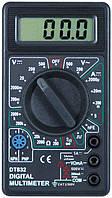 Компактный цифровой мультиметр DT-832, мультитестер, тестеры, вольтметры, амперметры, фото 1