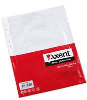 Файл глянцевый А4+, 40 мк., верхний разрез, 100 шт./уп. AXENT