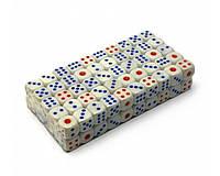 Кости игральные 100шт (упаковка) 1.5см №16Н SO