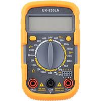 Цифровой тестер мультиметр 830 LN UK, электроизмерения, сопротивления, тока, напряжения