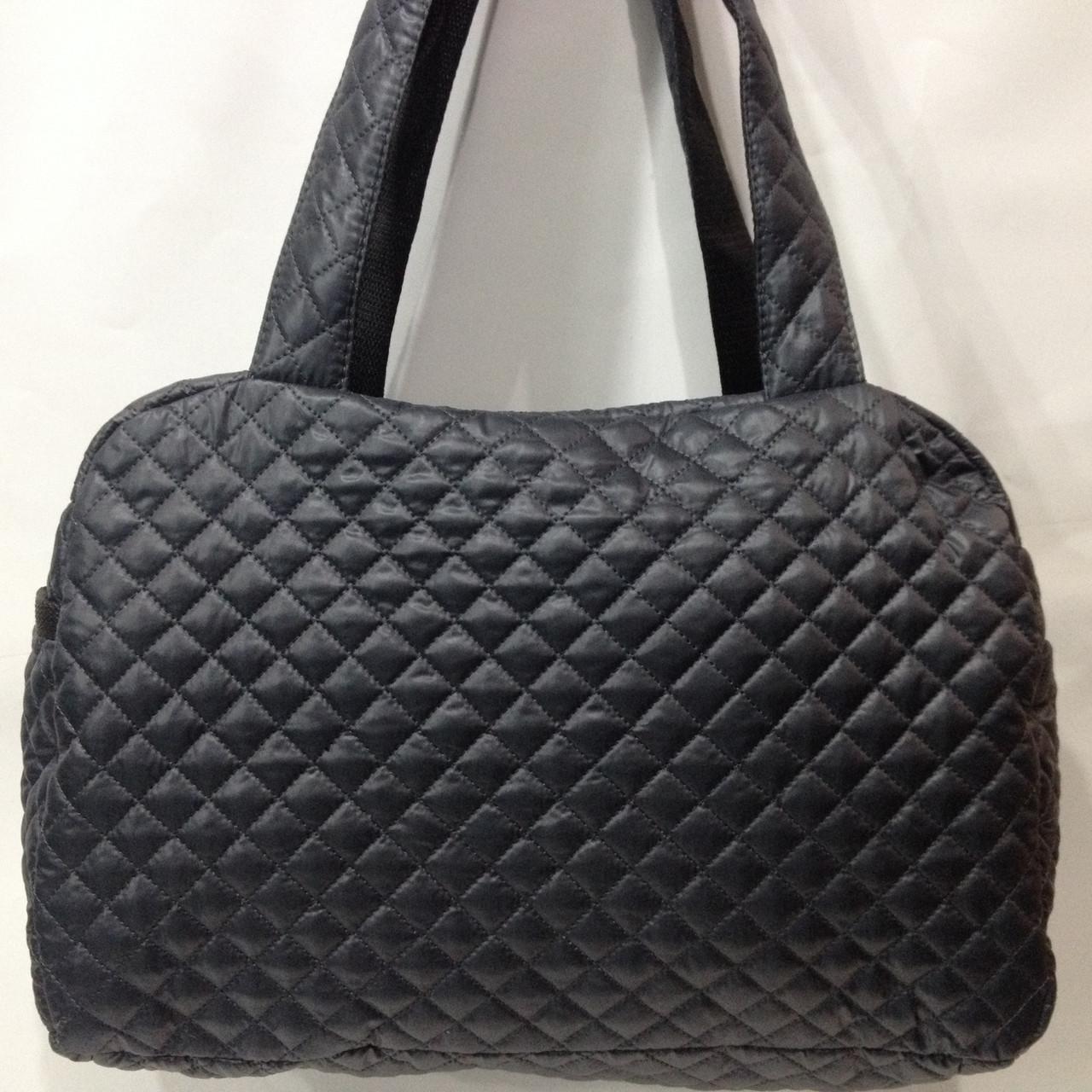 fcad4eaa6c5d Модная стеганая сумка темно-серый оптом: продажа, цена в Харькове ...