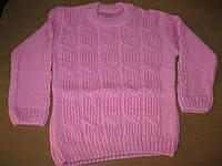Детские вязаные свитерочки для девочек 1-3 года Турция