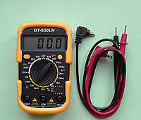 Мультитестер 830 LN DT-2, мультиметр цифовой, тестер со щупами, приборы для электрика