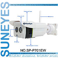 SunEyes SP-P701EW\ ONVIF\ Ip-камера\ IP66\  Wi-Fi\ HD\ 1.0 MP\ P2P\  Micro SD Слот