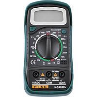 Цифровий мультиметр MAS-830 L, тестер, мультитестер, вольтметри, амперметри, фото 1