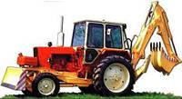 Экскаватор одноковшовый ЭО-2621 на базе тракторов МТЗ, ЮМЗ (Гидроцилиндры)
