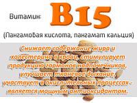 Витамин B15 (пангамовая кислота)