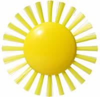 Игрушка Щетка-Солнце (9 см) PLUI - Moluk