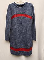 Стильное подростковое платье с карманами 8160