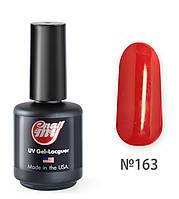 Гель-лак My Nail 9 мл №163 9классический красный, с очень мелким микроблеском, видно при ярком освещении)