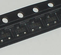 2N7002 K72 702 SOT-23 Транзистор полевой N-канал 60В 0.2А MOSFET STMicroelectronics