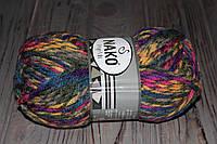 Пряжа меланжевая нако полушерсть для ручного вязания