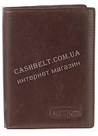 Стильная надежная кожаная обложка-документница высокого качества CEFIRO art.CE558-305B-3 коричневый, фото 1